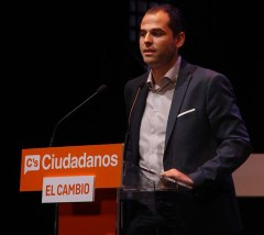 Ignacio Aguado acto central campaña Ciudadanos