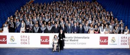 IX Promoción Ecuela Real Madrid-Universidad Europea