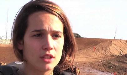 Gabriela Seisdedos, campeona de España de motocross en 2013