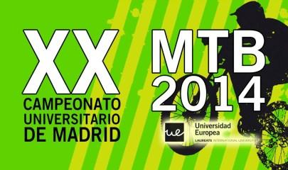 XX Campeonato universitario MTB de Madrid