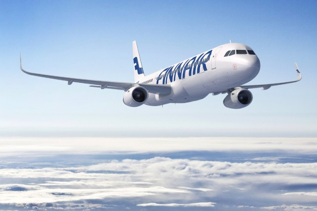 Finnair Airbus A321 with sharklets