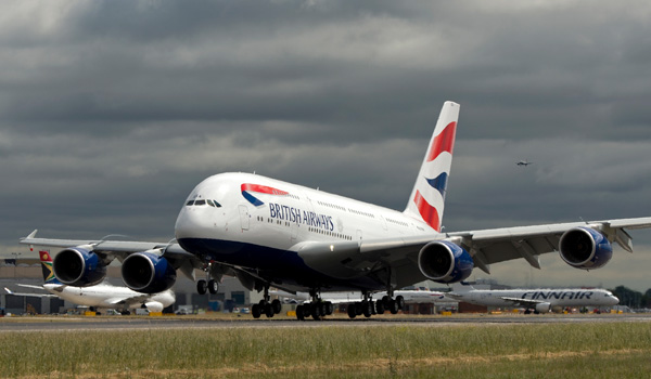 British Airways Links London And Washington With A380