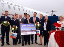 Germanwings flies now between Hamburg and Dresden