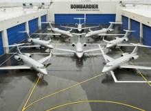 VistaJet fleet (© Bombardier)