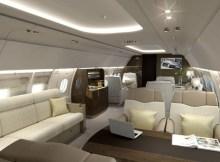 ACJ318 Elite cabin