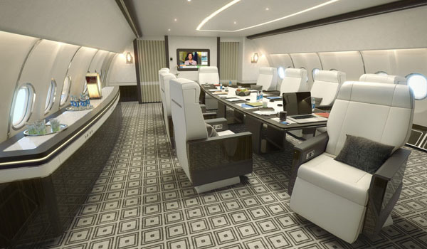 Airbus has launched a new VIP cabin concept, initially for the A330-200