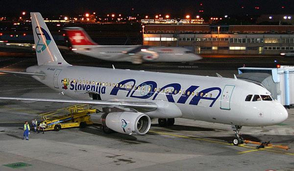 Adria Airways Airbus A320-200