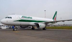 Alitalia Airbus A320