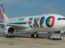 Alitalia Airbus A330-200 in special EXPO Milano 2015 livery