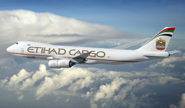 Etihad Cargo Boeing 747-8F