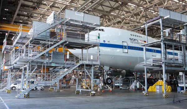 SOFIA Boeing 747SP
