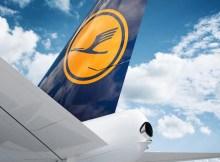 Lufthansa tail