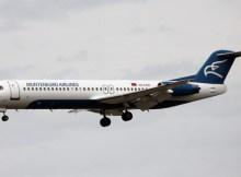 Montenegro Airlines Fokker 100