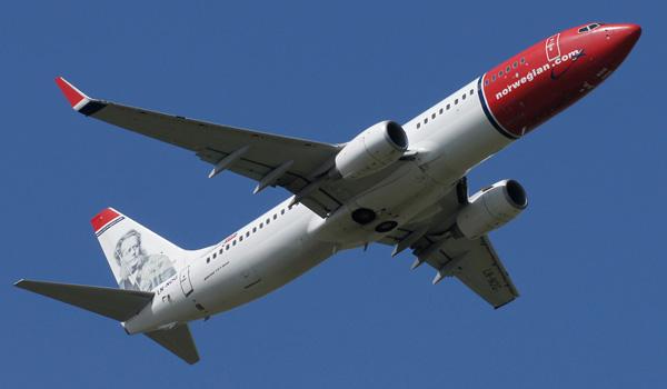 Norwegian Boeing 737-800WL