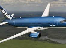 VLM Airlines Sukhoi SuperJet 100