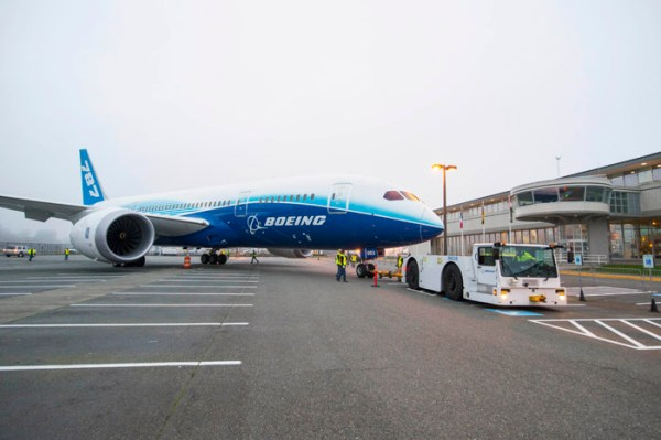 Boeing donates one of the original 787-8 Dreamliner flight test airplanes to the Museum of Flight in Seattle.