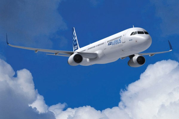 Airbus A321 with Sharklets