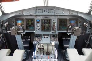 Cockpit of an ATR72-600 (© O. Pritzkow)