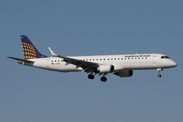 Augsburg Airways Embraer 195