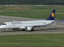 Lufthansa CityLine Embraer 195