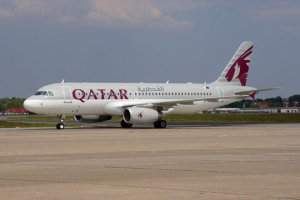 Qatar Airways Airbus A320-200 (© O. Pritzkow)