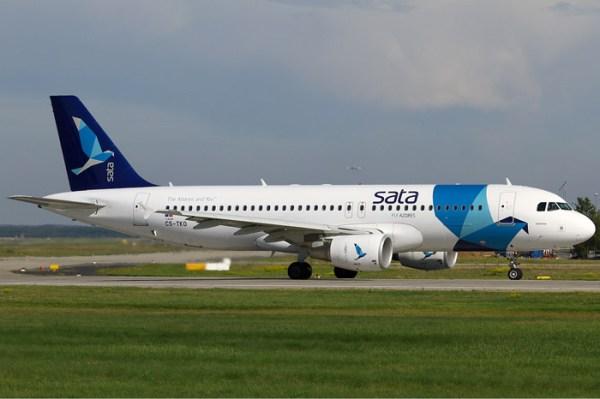 SATA Internacional Airbus A320-200
