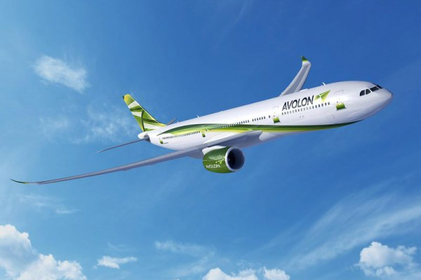 Artist impression of Avolon Airbus A330-900neo