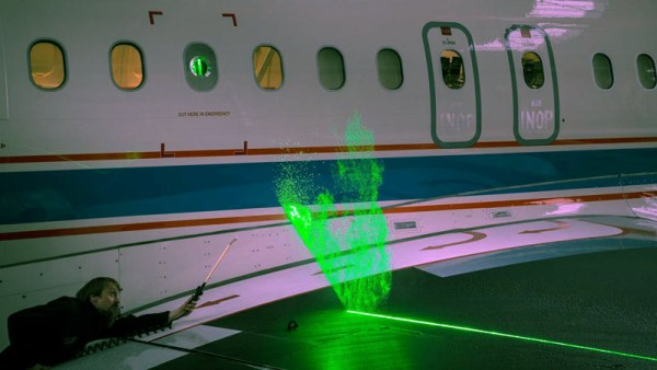 DLR researchers developed the Particle Image Velocimetry (PIV) technique