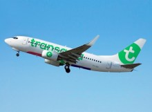 Transavia presented a new livery on this Boeing 737-700 (© Transavia)