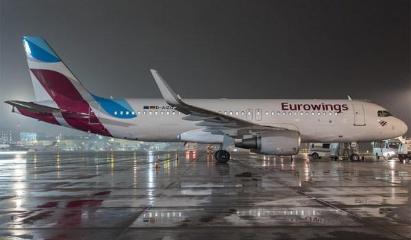 Eurowings Airbus A320 (© Lufthansa)