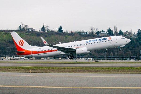 Okay Airways Boeing 737-900ER