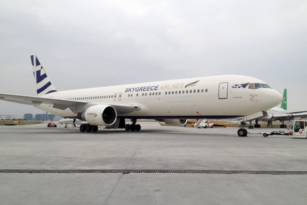 SkyGreece Airlines Boeing 767-300ER (© SkyGreece)