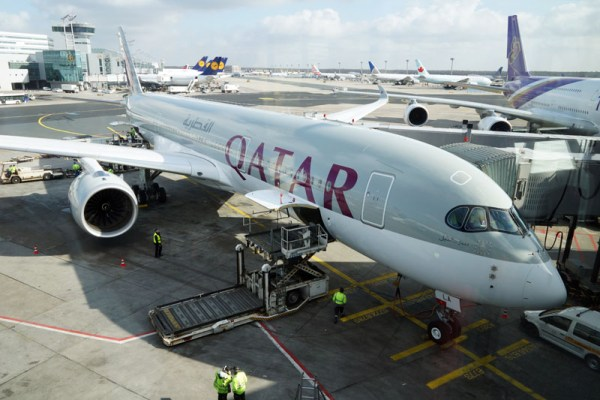 Qatar Airways Airbus A350 XWB at Frankfurt Airport (© O.Pritzkow)