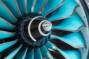 The CTi fan system on the Advanced Low Pressure System engine demonstrator (© Rolls-Royce)