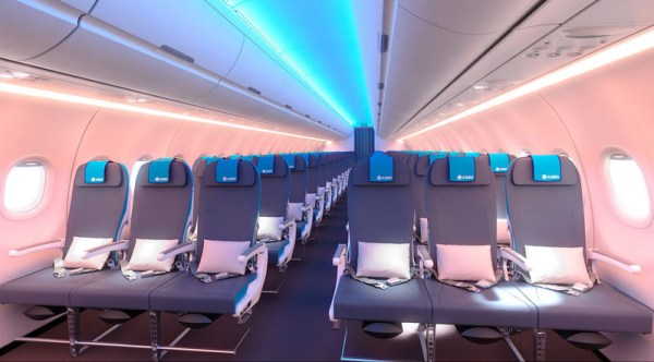 """Airbus and Recaro Aircraft Seating plan to offer for the first time a """"supplier-furnished-equipment"""" (SFE) Economy Class seat option for A320 Family operators. The proposed new seat, named """"3530Swift"""", is based on Recaro's """"BL3530"""" already developed for the A320 Family."""