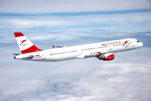 Austrian Airlines Airbus A321 in a slightly new design (© Austrian Airlines)