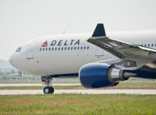 Airbus delivered its first 242-tonne maximum take-off weight A330-300 variant on 28 May 2015, with the aircraft received by U.S.-based Delta Air Lines