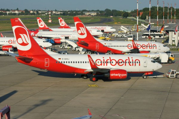 Planes of airberlin (© O. Pritzkow)