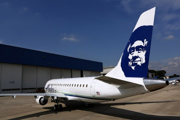Alaska Airlines Embraer 175 operated by SkyWest (© Embraer)