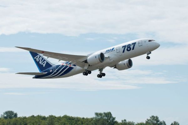ANA Boeing 787-8 (© Boeing)
