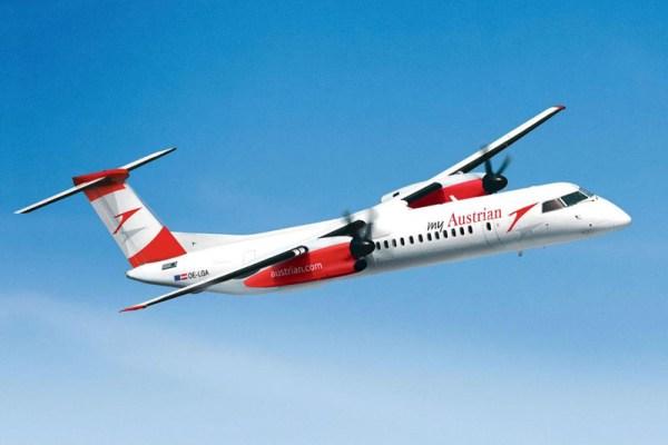 Austrian Bombardier Q400 (© Austrian)