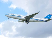 Kuwait Airways Airbus A330-200 during take-off (© Airbus)
