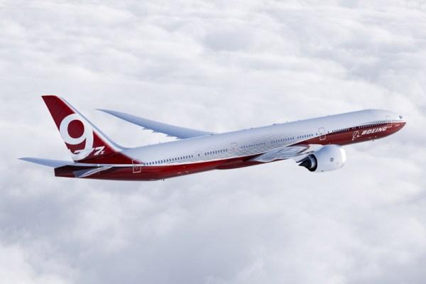 Boeing 777-9X Artwork (© Boeing)