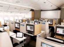 Swiss 777-300ER Business Class (© Swiss)