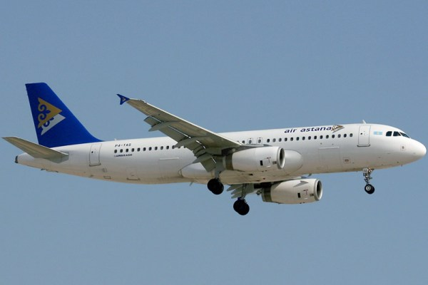 Air Astana Airbus A320-200 (GFDL K.v.Wedelstaedt)