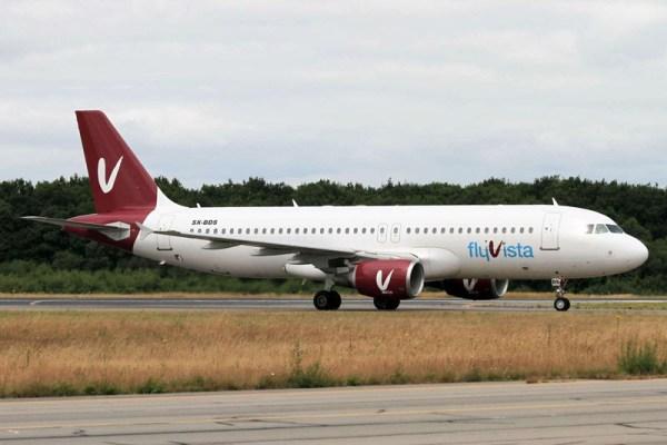 Airbus A320-200 der Aerovista (© Moyendan)