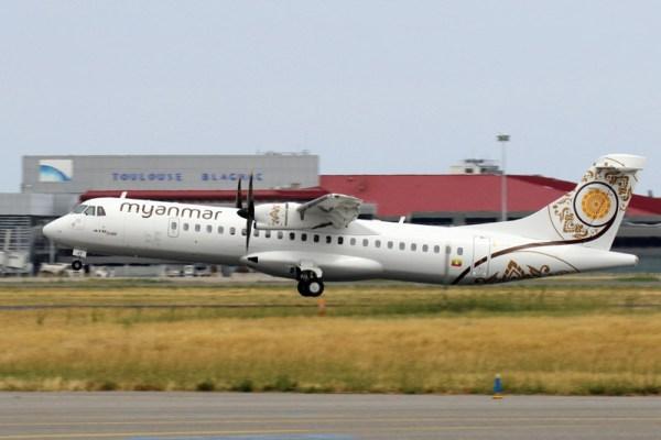 Myanmar National Airlines ATR72-600 (© ATR)