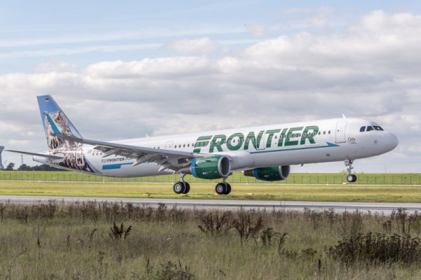 Frontier Airlines Airbus A321 (© Airbus)