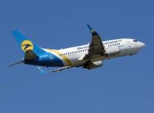 Ukraine International Boeing 737-500 (© O. Pritzkow)