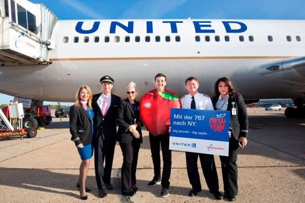 United setzt jetzt Boeing 767 zwischen Newark und Hamburg ein. (© Hamburg Airport)